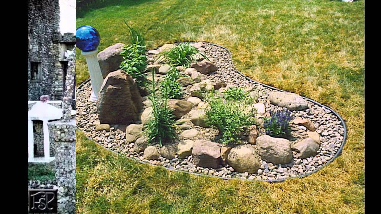 Garden Ideas] Rock garden images - YouTube