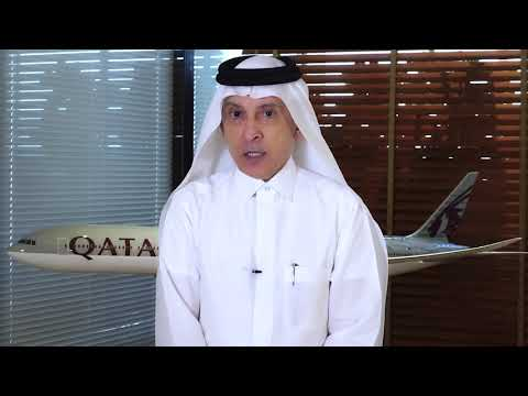 Happy Qatar National Day 2020 from H.E. Mr. Akbar Al Baker | Qatar Airways