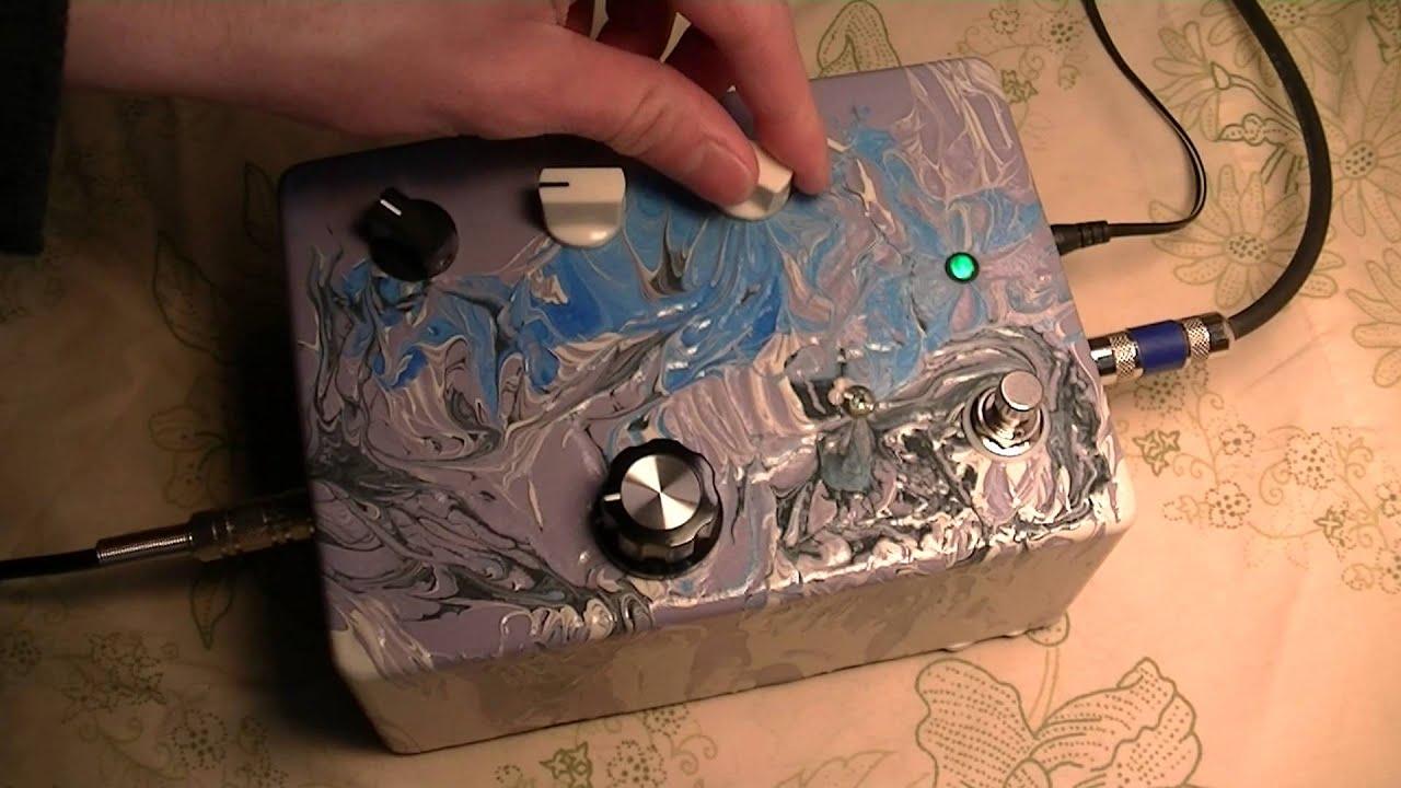 Diederich Electronics Magic Box Circuit Bent Lo Fi Guitar Pedal