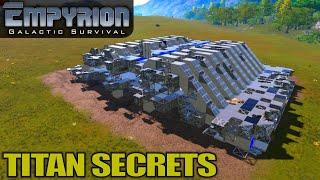 titan Secrets  Empyrion Galactic Survival  Space Survival Alpha 10 Gameplay  E07