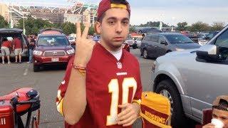 AntoDaBoss At The Redskins vs Eagles Game - Vlog!!