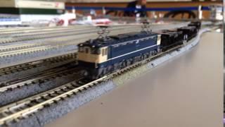 【鉄道模型】EF65 1000+ホキ800工臨