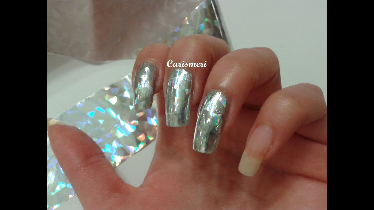 How to apply nail art foils in three ways youtube prinsesfo Images