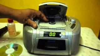 Como LIMPIAR LENTE OPTICO DE REPRODUCTOR CD Limpieza De Lector Optico De Radio Consejos Caseros