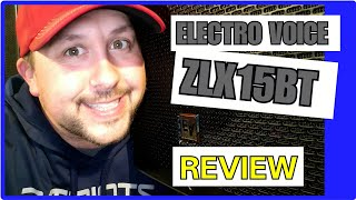 ELECTRO VOICE ZLX 15BT REVIEW #EV #DJ #Review