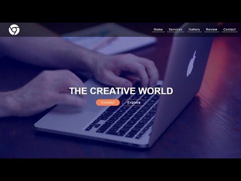 How To Make A Website Using HTML & CSS With Background Video Step By Step