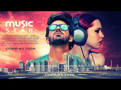 Music star poster design | photoshop manipulation tutorial