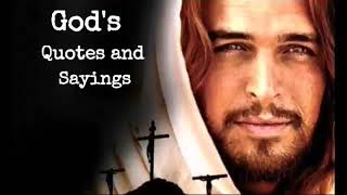 God's Quotes and Sayings
