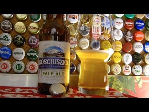 Kosciuszko Pale Ale z browaru Kosciuszko Brewing Co. w Australii