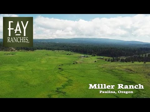Oregon Cattle Ranch For Sale | Miller Ranch | Paulina, OR | Mountain Property