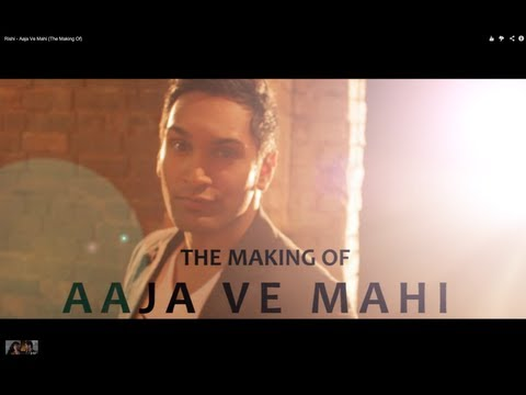 Rishi ''The Making Of'' Aaja Ve Mahi