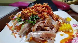 สวัสดีประเทศไทย คิดถึงประเทศไทย คิดถึงส้มตำยำเจ้เล็ก ประจวบคีรีขันธ์  Papaya Salad Jea Leak