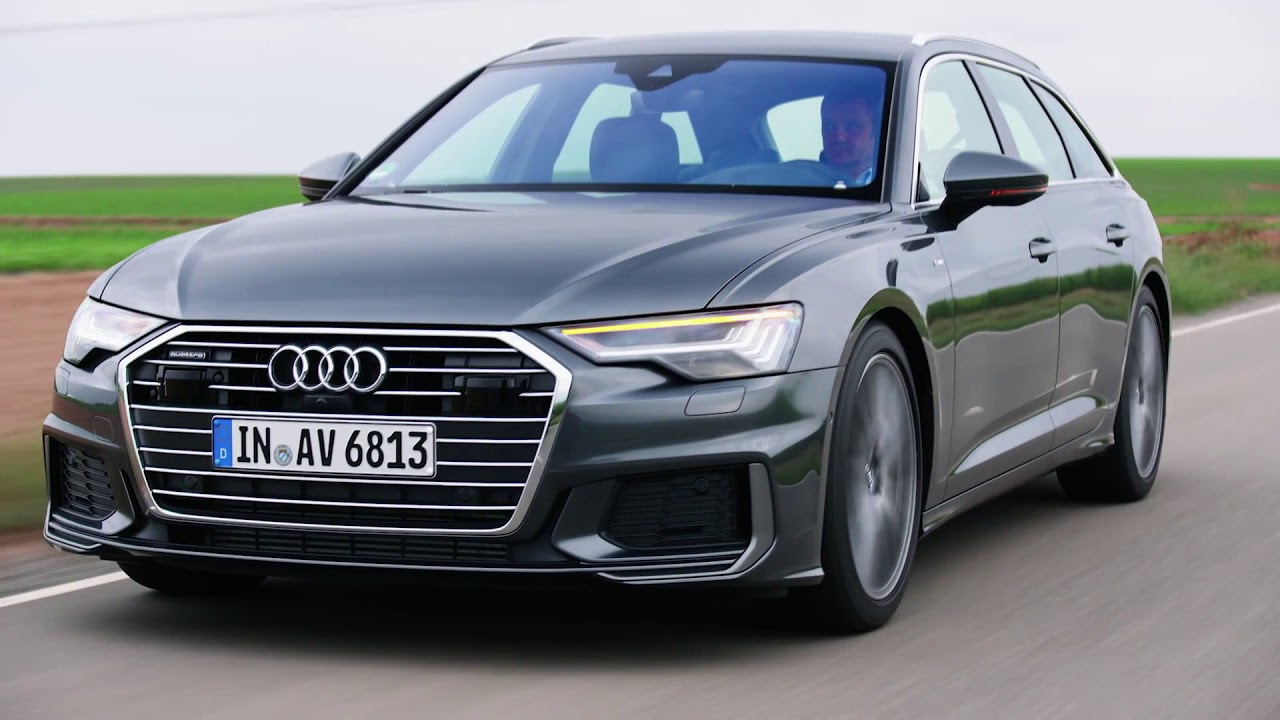 2019 Audi A6 Avant Matrix Led Headlights Tail Lights Youtube