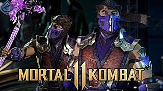 Mortal Kombat 11 Online - AWESOME MK9 RAIN SUB-ZERO SKIN! / Видео