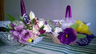 Декорування Пасхального кошика / Decorating of the Easter basket