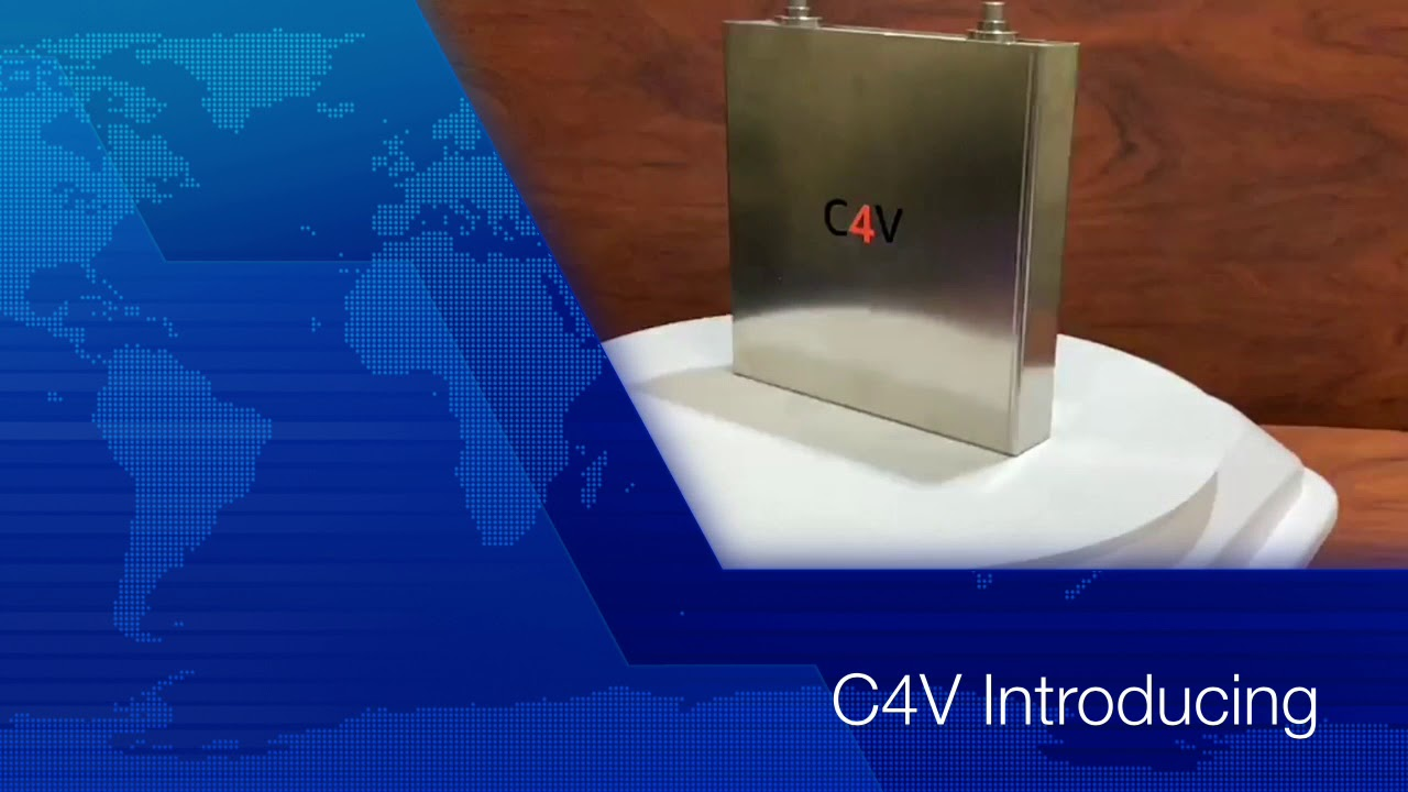 C4V Batteries Promise Increased Energy Density, Production Soon