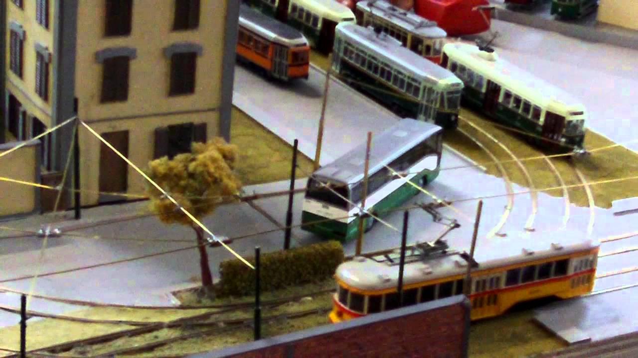 tram modellismo torino youtube
