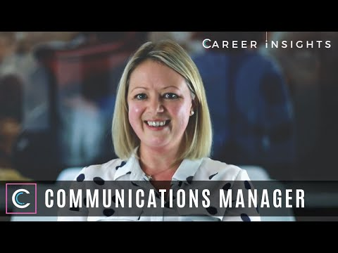 Communications Manager - Career Insights (Careers In Communications & PR)