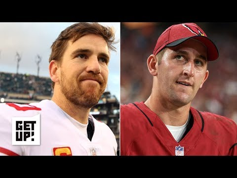Are the Giants looking to trade for Josh Rosen instead of drafting a QB? | Get Up!