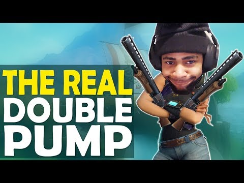THE REAL DOUBLE PUMP   GOOD OR DOODOO?    I MISS YOU BABY- (Fortnite Battle Royale)