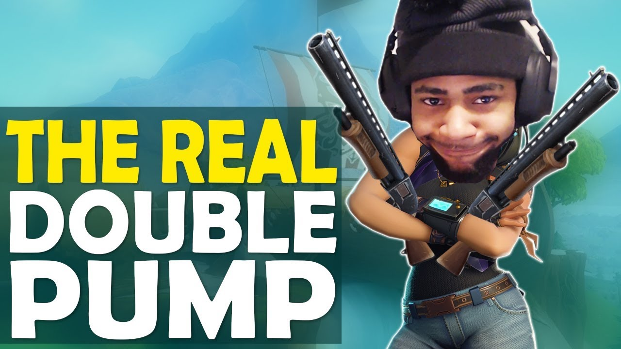 THE REAL DOUBLE PUMP  GOOD OR DOODOO  I MISS YOU BABY