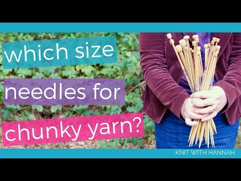 What Size Needles For Chunky Yarn?