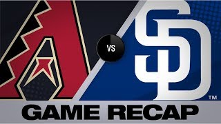 Leyba, Escobar lead D-backs to a 4-2 win | D-backs-Padres Game Highlights 9/21/19