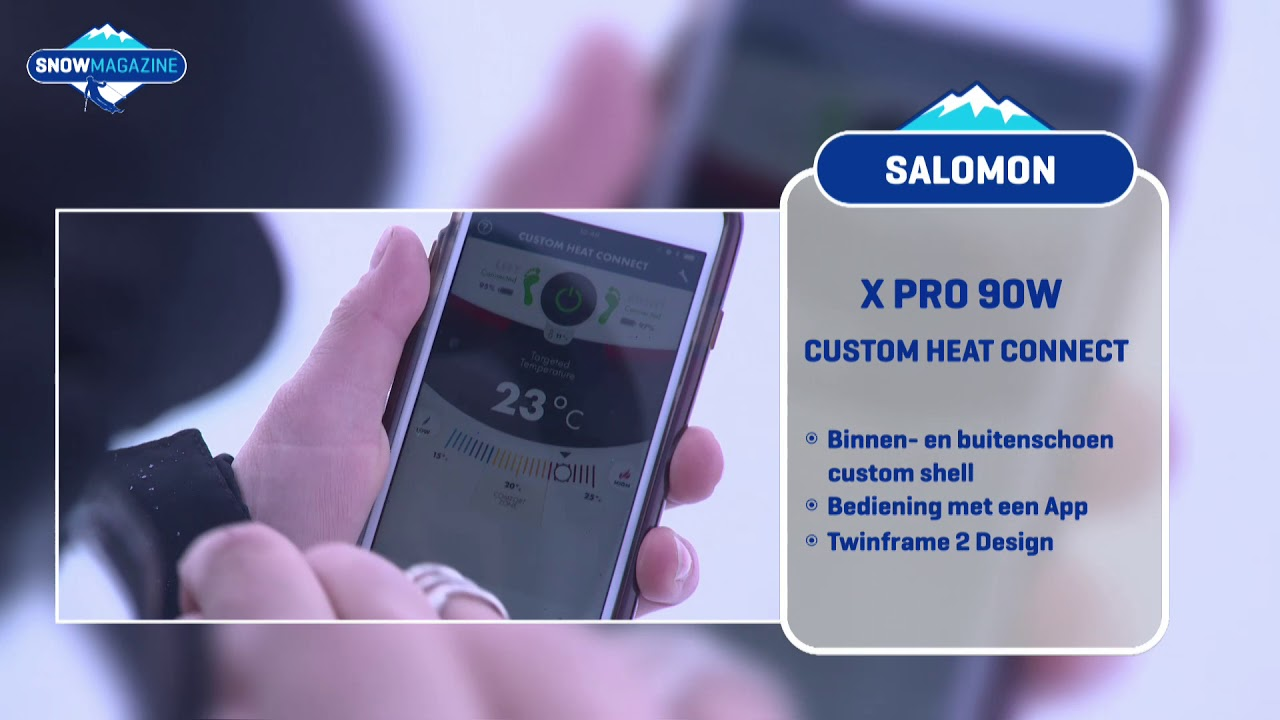 f6d2da13d43 ALTIJD WARME VOETEN I SALOMON XPRO90 I SNOWGEAR - YouTube