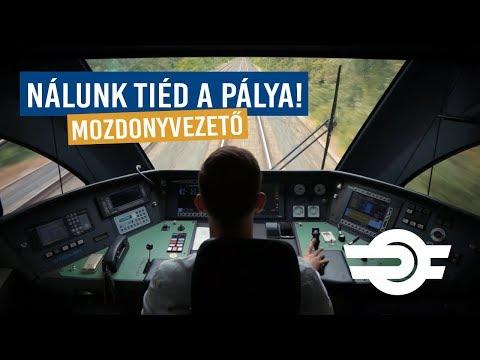 Mozdonyvezető - Nálunk Tiéd A Pálya!