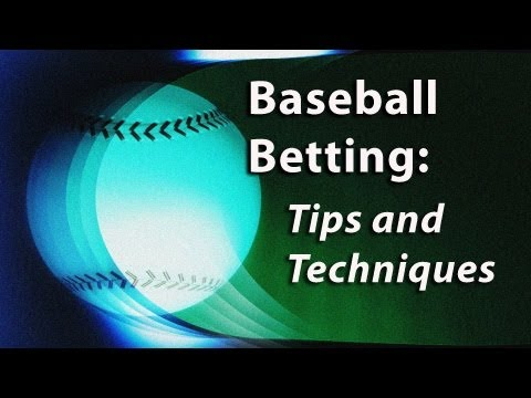 Baseball Betting Tips with Tony George