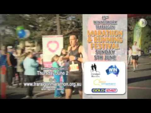 Traralgon Marathon and Running Festival 2016 - WIN Network Promo