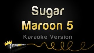 Maroon 5 - Sugar (Karaoke Version)