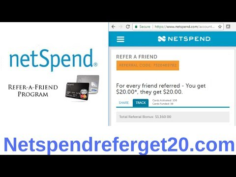 Netspend Referral Bonus
