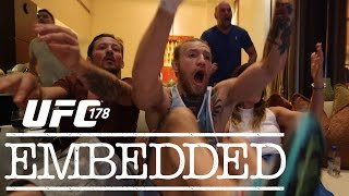 UFC 178 Embedded: Vlog Series ­- Episode 1