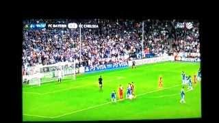 Champions League Finale FC Bayern gegen FC Chelsea Robben Elfmeter verschossen