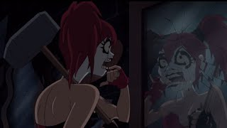 Justice League Gods and Monsters Batman vs Harley Quinn
