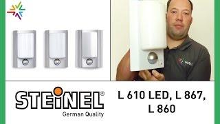 STEINEL L 610 LED, L 867, L 860 Außenleuchte [watt24-Video Nr. 101]