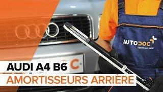 Comment remplacer des amortisseurs arrière sur une AUDI A4 B6 TUTORIEL | AUTODOC