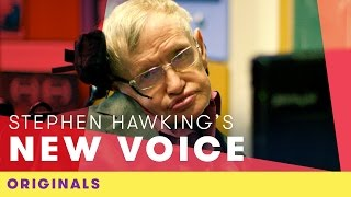 Stephen Hawking's New Voice | Comic Relief Originals