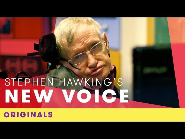 Stephen Hawking's New Voice | Comic Relief Originals