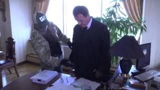 Проведення обшуку в Апеляційному суді м. Києва