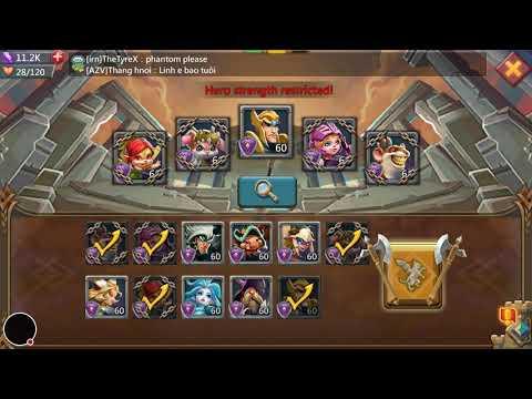 Lords Mobile: Mastercook Unlocked Stage 6 (Oath Keeper/Tank) (Tips In Description)