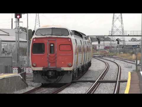 Australian Trains - Adelaide Metro Jumbos at Dry Creek 2012