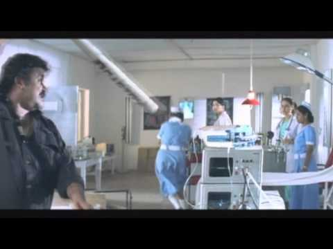 Raavanaprabhu   Mohanlal Hospital Attacking Scene