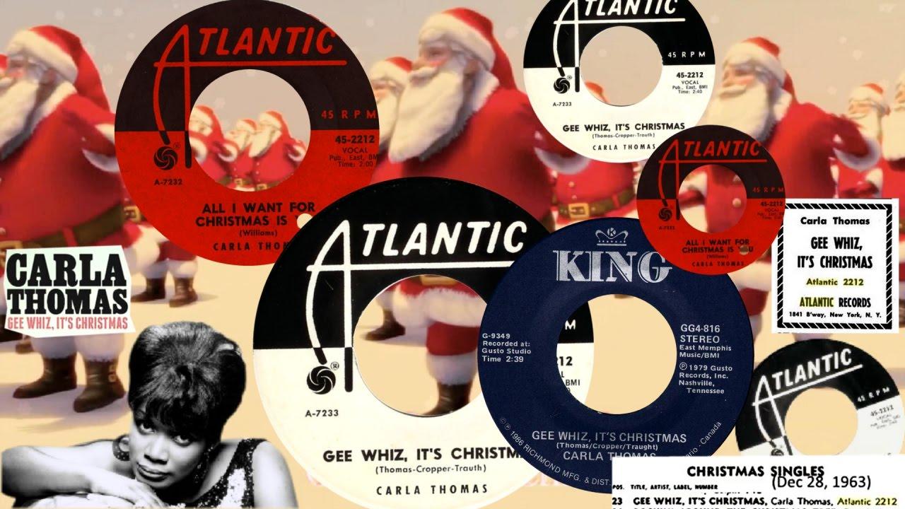 carla thomas gee whiz its christmas 240 usa atlantic 45 2212 nov 1963