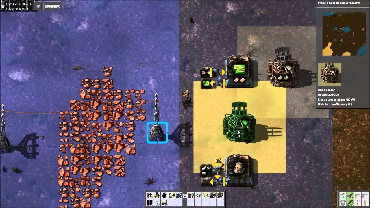 Factorio Tutorial - Beacons
