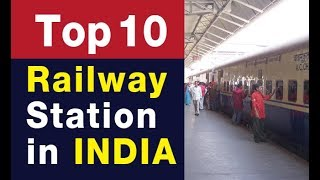 Top 10 Railway Station In India | Top Biggest & Busiest Railway Station 2018