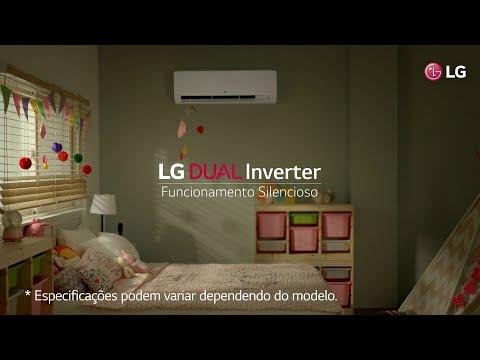 LG Dual Inverter | Funcionamento Silencioso
