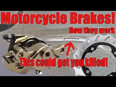 Motorcycle Brakes! How They Work.
