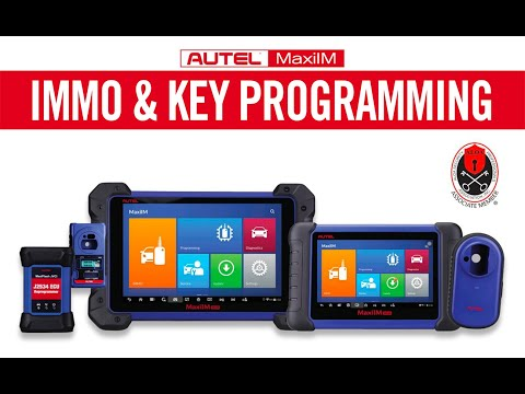 Autel LIVE Webcast - Key Programming and Immobilizer with Autel IM Tools